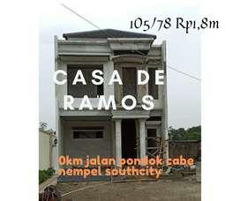 Rumah Murah Di Pondok Cabe, CASA DE RAMOS.