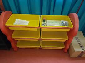 Toy rack for kids