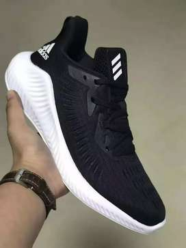 Branded alphabounce shoes