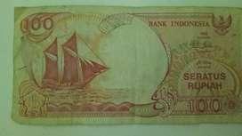 Uang kertas tahun 1992 ada tulisan perahu pinisi