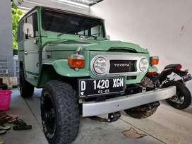 ANTIK Jarang Ada Hardtop 4x4 Diesel Manual MT Tahun 1977 Generasi ke-2