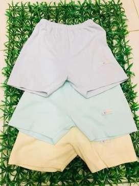 Celana pendek anak libby size 1-2thn (3pcs)