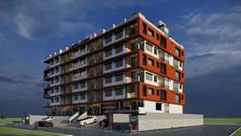 1-BHK 695sq.ft. Luxury flats in front of Aurobind Hospitalo Hospial