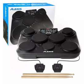 Alesis Compact Kit 7 | Ultra-Portable 7-Pad Electronic Table-top Drum