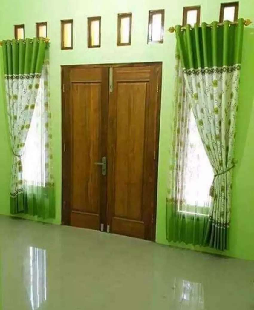 Rezeki interior gorden jendela minimalis