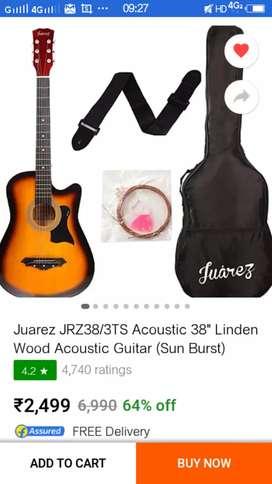 1 day old Juarez guitar
