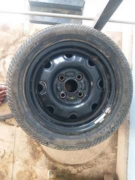 Car wheel( tyre with drum)