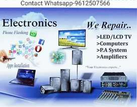 Any Tv, Amplifier, Sound System, Repair Done.