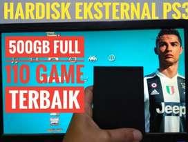 HDD 500GB Terjangkau Murah FULL 110 GAME PS3 KEKINIAN Siap Dikirim