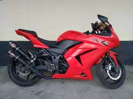 SAWO MOTOR - NINJA 2012 MERAH 250CC PLAT BJM