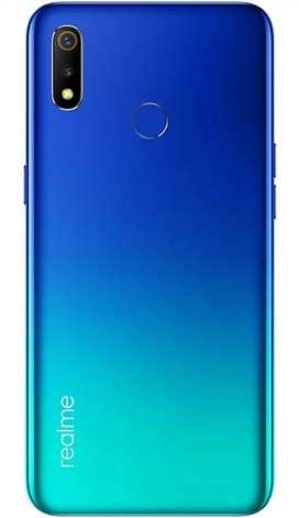 Realme 3 Look new condition 4 +64 gb blue color