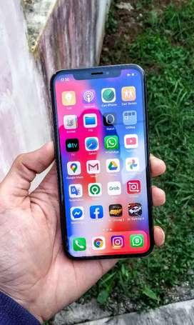 JUAL MURAHH IPHONE X 64GB FULLSET ORIGINAL 3UTOOLS 98% MANTAP