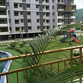 Subham Greens semi Furnished 3bhk available.Broker charges apply