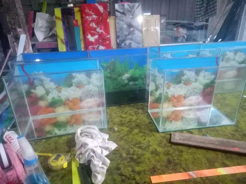 Agen AQuarium jual aquarium lebar 25 panjang 40 cm gratis ongkir 0