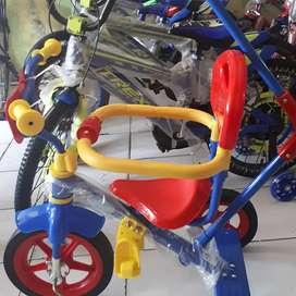 Sepeda anak roda 3 merk PMB
