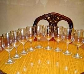 Gelas kristal wine/ Gelas anggur