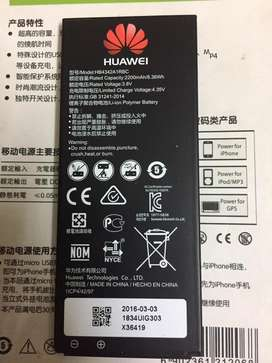 Battery Huawei HB4342A1RBC Y5 II 2 Ascend Y6 honor 4A
