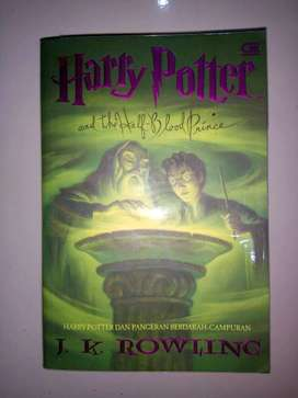 Buku Harry Potter and The Half Blood Prince