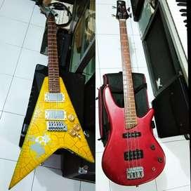 Gitar dan bass murah