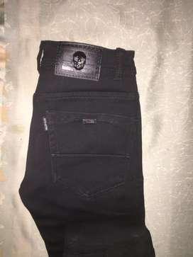 Black formal jeans
