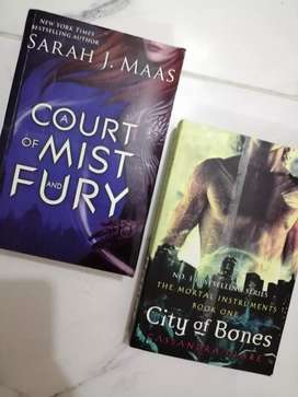 A court of mist and fury and city of bones