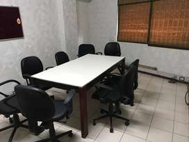 870sqft fully furnished office with 2 cabin