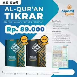 Jual Al Quran Tikrar