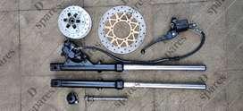 Yamaha Gladiator disc assembly for RX100 RX135 RXZ