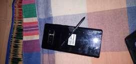 Note 8 new phone but Display broken