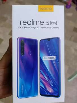 REALME 5PRO 8/128(12months WARRANTY)PTA APPROVED