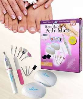 18 Piece Handheld Pedi Mate Machine