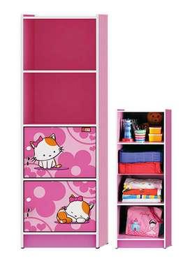 Lemari Serba Guna Activ Happy Kitty Pink LSG 4B