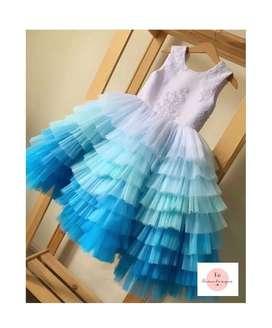 Designer gown for kids