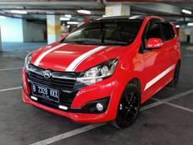 Daihatsu New Ayla 1,2 R DLX AT 2018 Merah