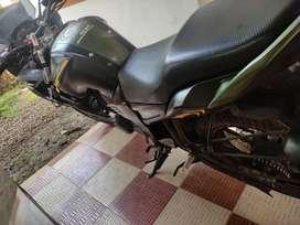 Yamaha fazer limited edition, matt black green