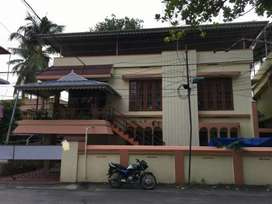 4.5 cent's land 2300 sqft old house for sale Rs. 80 lakhs at Maradu