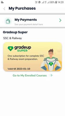 GRADE UP online course SSC&RRB LIVE CLASSES & TESTS