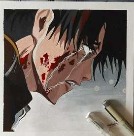 Anime handmade art