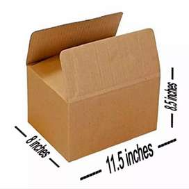10 pcs Packaging/Packing Plain Brown/Khaki Box 11.5 x 8.5 x 8 inches