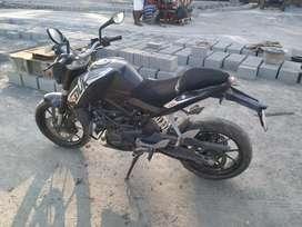 KTM DUKE 200 black colour