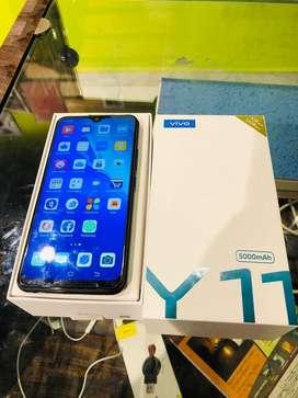 Vivo y11 3gb 32gb blue 9 months warranty available