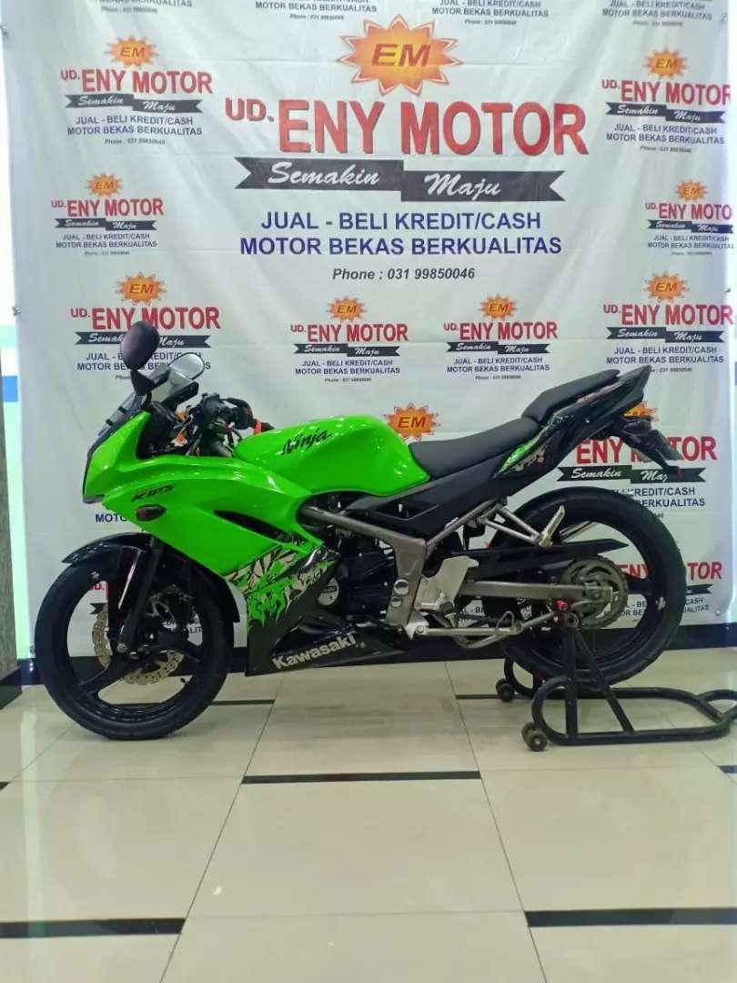 K.ninja rr 2013 PMK 2014 super kips 150 cc hijau 0