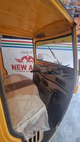 New Asia 200cc Loader Rikshaw
