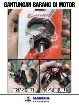 Gantungan Barang Di Motor bisa Single bisa double
