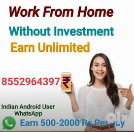 Be your own boss and earn money from home