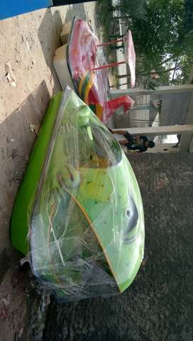 sepeda air kodok,kodok warna hijau,perahu sepeda air murah ready stok