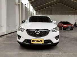 Mazda CX5 GT 2013 Putih, BOSE audio, Sunroof, Electric seat