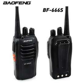 Baofeng BF-666S 16-Channel 5W Walkie Talkie Wireless Radio Black berry