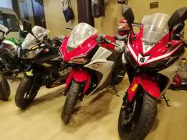 #OW_MOTORSPORTS 200cc to 400cc heavy bikes in different displacements