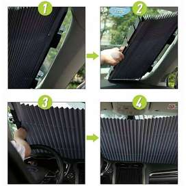 2019 Online Store Auto Universal Car Retractable Windshield Sun Shade